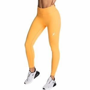 NWT DYE DO YOU EVEN Sherbet Orange Excel Leggings